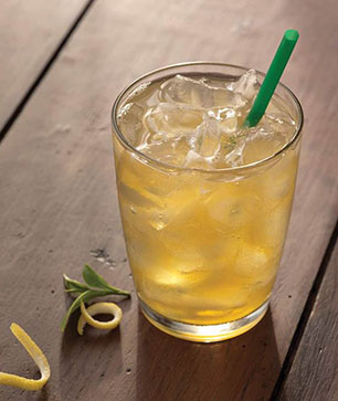 Iced Shaken Green Tea Lemonade